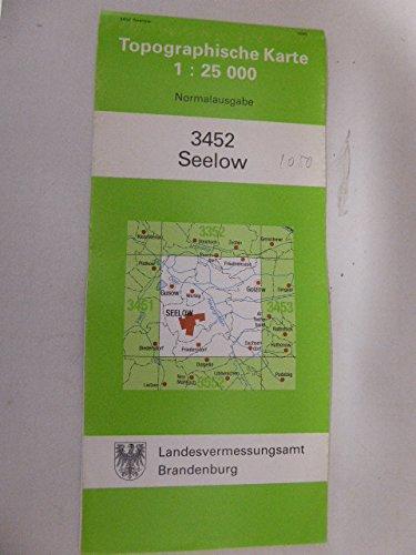 Seelow (Topographische Karten 1:25000 (TK 25) Land Brandenburg (amtlich))