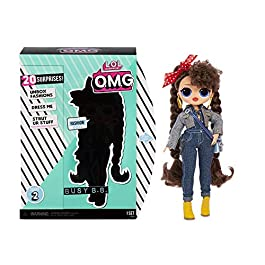 L.O.L. Surprise! 565116E7C O.M.G. Busy B.B. Fashion Doll with 20 Surprises, Multi