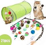 Y-Step 21 Stück Katzenspielzeug Set Katze Toys Variety Pack