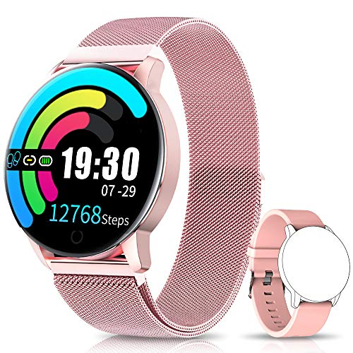 NAIXUES Smartwatch, Reloj Inteligente IP67 con...