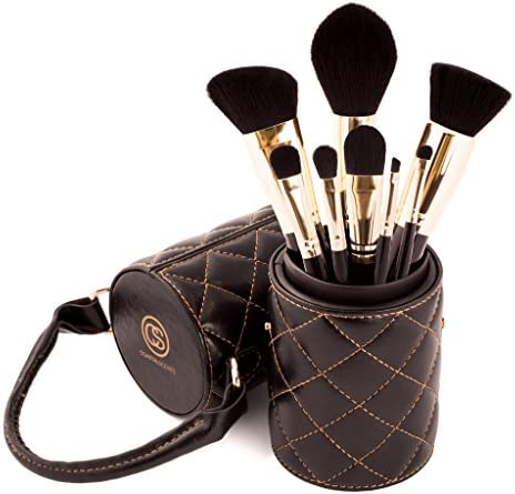 Coastal Scents Majestic 8 piece Makeup Brush Set with Carrying Case product image