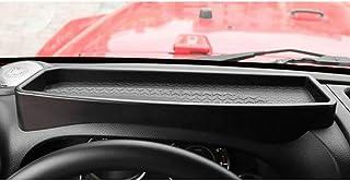 N//A Supporto per Accessori per Organizer per cruscotto Auto 1pcs Scatola di immagazzinaggio Auto ABS per Jeep Wrangler JK 2011-2018