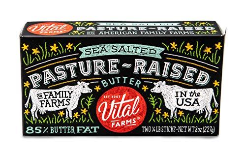 Vital Farms Alfresco Butter, Sea Salted, 8 oz