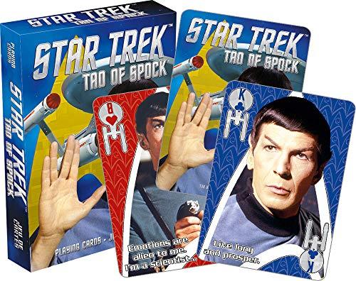 Aquarius Star Trek Tao of Spock Set Of Playing Cards + Jokers (nm)