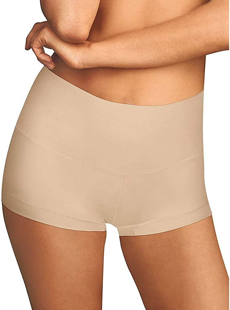 Maidenform Women's Tame Your Tummy Shaping Boyshort Shapewear With Cool Comfort DM0050 at  Women's Clothing store