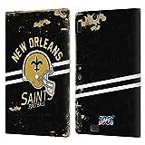 Head Case Designs Licenciado Oficialmente NFL Casco Distressed Look 100th New Orleans Saints Logo Ar...