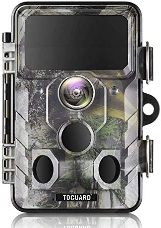 TOGUARD Upgraded Trail Camera WiFi Bluetooth 20MP 1296P Hunting Game Camera with 120 Monitoring product image
