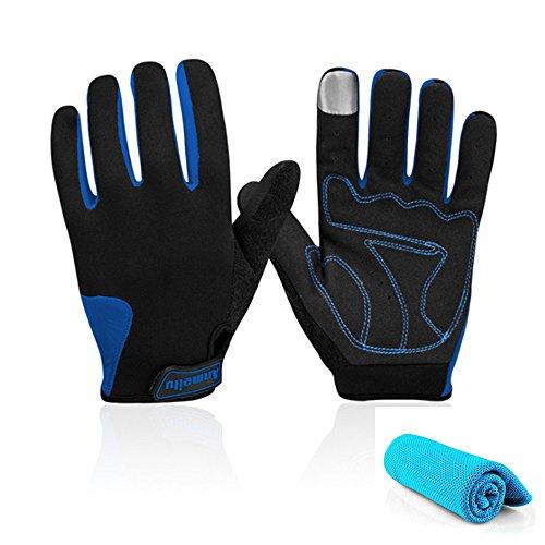 Fietsen Fitness Handschoenen Mountainbike Handschoenen Road Racing Fiets Handschoenen Volledige Vinger Fietshandschoenen Rijhandschoenen Mannen/Vrouwen Werk Handschoenen
