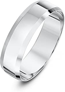 Theia 中性款 9克拉 黄金 重扁平形状斜边边缘抛光结婚戒指