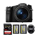 Sony DSC-RX10 III Cyber-Shot Digital Still Camera, Sony 64GB 94MB/s, 2 Spare Batteries + Charger
