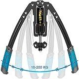 Power Twister,10-200KG Verstellbarer hydraulischer Armtrainer Brust-Expander...