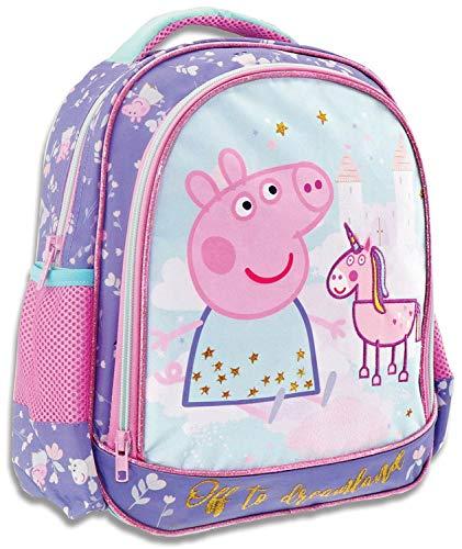 Diakakis Kindergarten Rucksack Kita Kinderrucksack Peppa Pig Wutz