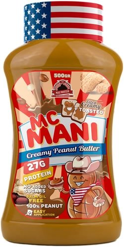 MAX PROTEIN MC MANI CACAHUETE INTENSO (500 GRS)