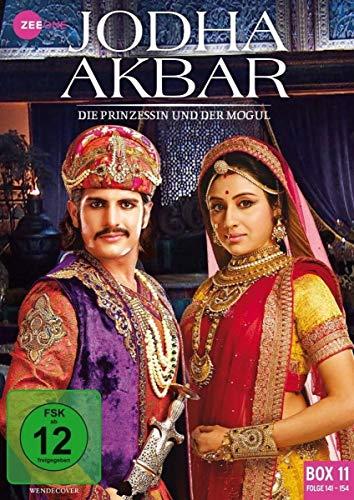 Jodha Akbar - Die Prinzessin und der Mogul (Box 11, Folge 141-154) [3 DVDs]