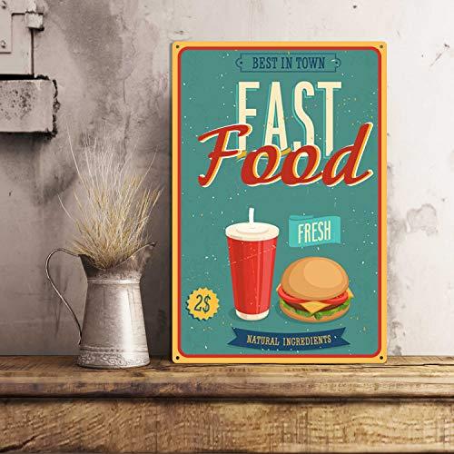 Fast food Natuurlijke ingrediënten Tevreden maag en tevreden uDe beste fast food in de stadDe versste rollBurgersCola met ijs Vers vlees