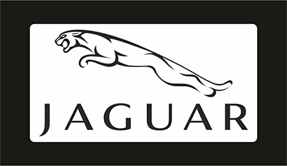 Graphic Lab Aufkleber Sticker Jaguar Auto Rally Formula 1 Racing Decal Sticker Küche Haushalt