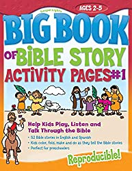 The Big Book of Bible Story Activity Pages #1: Help Kids Play, Listen and Talk Through the Bible (Big Books)