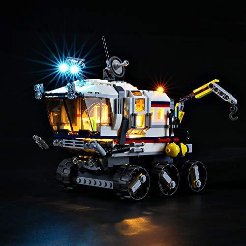 BRIKSMAX Led Beleuchtungsset für Lego Planeten Erkundungs-Rover,Kompatibel Mit Lego 31107 Bausteinen Modell - Ohne Lego Set