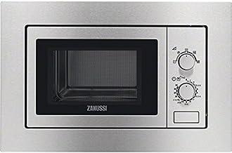Zanussi ZSM17100XA Integrado 17L 700W Acero inoxidable - Microondas (Integrado, 17 L, 700 W, Giratorio, Acero inoxidable, Botón)
