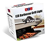 ABI Home Barbecue Grill Light - BBQ Grill Light 10 Super Bright LED Lights Adjustable to 3 Levels - 3 AA Batteries - Free Screwdriver - Heat Resistant Metal Clip - 360 Swivel Head | Buy Now!
