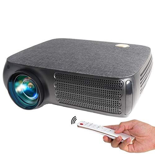 Proyector 4K Compatible, Seelumen FH810 Full HD 1080p Nativo 6.800 lúmenes , Dolby Digital AC3 Corrección Digital 4D, hasta 300