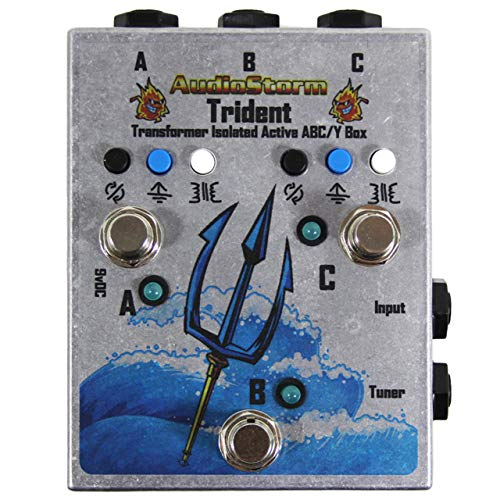 AudioStorm Trident 3-way Transformer Isolated Boutique ABY box