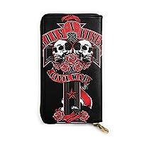 財布 長財布 定期入れ ガンズ・アンド・ローゼズ Guns N' Roses マイケルコース バッグ 大容量 収納 長札 小銭入れ カード入れ