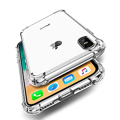 ORIbox Case for iPhone 11, Crystal Clear Case with 4 Corners Shockproof Protection, Soft Scratch-Resistant TPU Cover for iPhone 11, 6.1 inches.