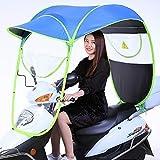 Cubierta universal para sombrilla eléctrica para motocicleta, sombrilla para tienda de campaña con parasol para bicicleta de motor, sombrilla universal para motoneta, sombrilla para movilidad, cubie
