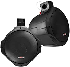 6.5 Inch Dual Marine Speakers – 2 Way IP44 Waterproof, Weather Resistant Outdoor..