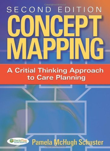 By Dr Pamela Schuster: Concept Mapping: A Critical-Thinking Approach to Care Planning Second (2nd) E