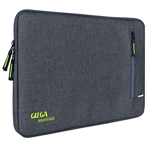 GIZGA essentials Laptop Bag Sleeve for 13 inch-13.5 inch Laptop Case Cover Pouch MacBook Pro (Grey)