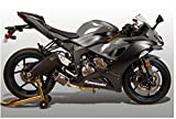 M4 Performance Exhaust Carbon Slip-on Canister compatible with 2009-2021 Kawasaki ZX-6R KA6914