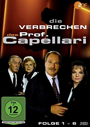 Die Verbrechen des Prof. Capellari - Folge 1-6 (3 DVDs)