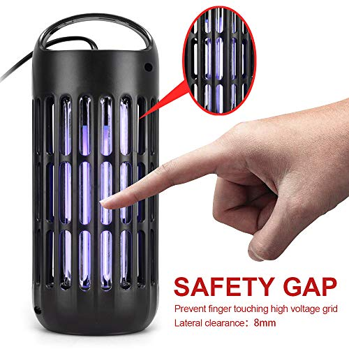 AUTSCA Lampe Anti-UV tuent Les, adaptée pour l'intérieur et l'extérieur Zone de Travail Efficace 50-60 Mètres Carrés