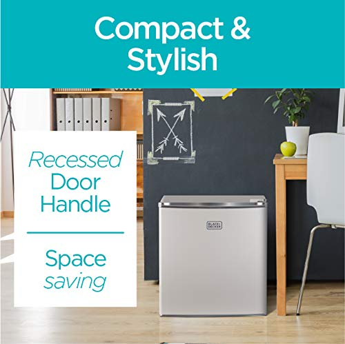 Compact Refrigerator Energy Star Single Door Mini Fridge with Freezer