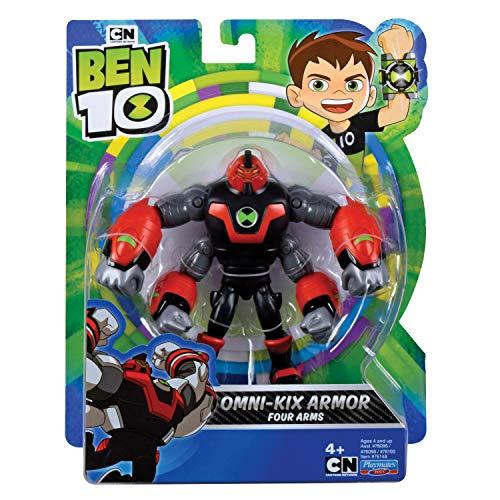 Ben 10 BEN47D10 - Figura de acción de Cuatro Brazos Omni Kix