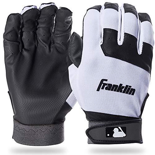 Franklin Sports Youth Flex Gants de Baseball, Mixte, Noir/Blanc