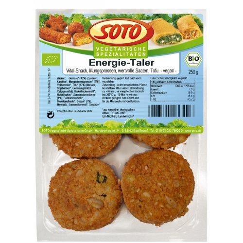 Soto Energie-Taler inkl. Kühlverpackung (250 g) - Bio