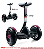 IPG for Segway miniPRO | Smart Self Balancing Personal Transporter Hoverboard Decorative Scooter Accessories Vinyl Decal Wrap Skin Do it Yourself by (Flower Series)