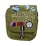 Star Wars Cross Body Bag Monedero, 25 cm, Verde (Khaki)