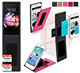 Hülle für Alcatel Idol 4S Tasche Cover Case Bumper   Pink
