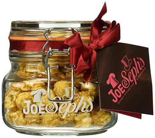 Joe & Seph's Popcorn doppelt gesalzenes Karamell im Glas, 1er Pack (1 x 80 g)