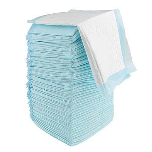 CUTICATE Inkontinenzunterlagen Krankenunterlagen Einwegunterlage Einmal Wickelunterlagen - Blau, 50 Stück 45x33cm
