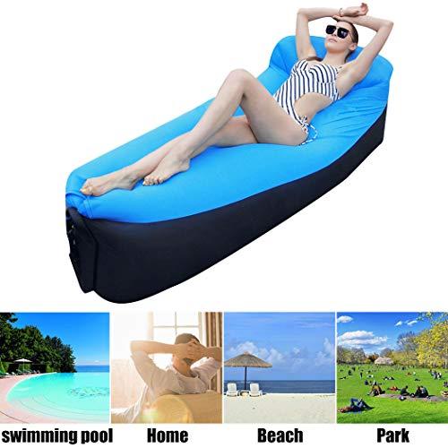 Fansport Divano da Campeggio Air Sofa Strato Portatile Gonfiabile Impermeabile dell Amaca dell Aria di Aria per Esterno