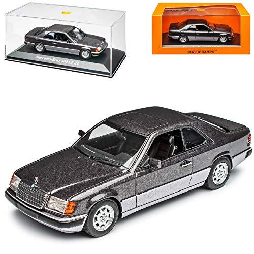Mercedes-Benz E-Klasse 300 CE W124 Coupe Purple Grau Metallic 1984-1997 1/43 Minichamps Maxichamps Modell Auto