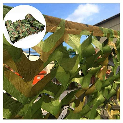 Tarnnetz Garten Tarnnetz Sonnenschirm 150D Oxford Stoff Armee Camping Heime Wandern camo Markisen Rolläden Jagd-Schießen Vogelbeobachtung Tarnung Zubehör 6m 8m 10m (Size : 10 * 10m(32 * 32ft))