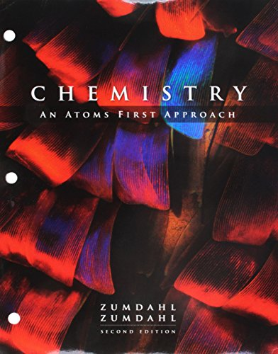 Bundle: Chemistry: An Atoms First Approach, Loose-leaf Version, 2nd + OWLv2, 1 term (6 months) Printed Access Card