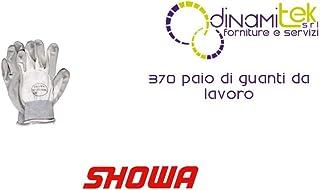 Showa - 5410306 guantes 370-nbr, blanco, ce-2 nitrilo, tama