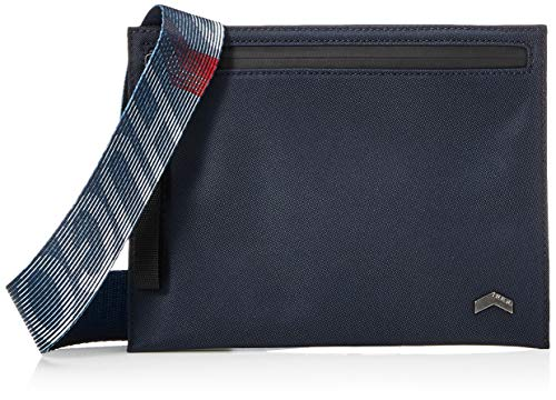 HUGO Men's Envelope_LP3 Neck Pouch, Navy410, One Size UK